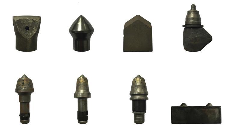 多种可供选择的优质合金刀头